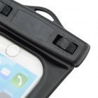 "WP-160 Waterproof Protective Bag Pouch w/ Strap + Arm Band for IPHONE 6 4.7"" - Black"