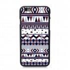 "Elonbo Tribal Patterned Plastic Hard Back Cover Case for IPHONE 6 4.7"" - White + Brown"