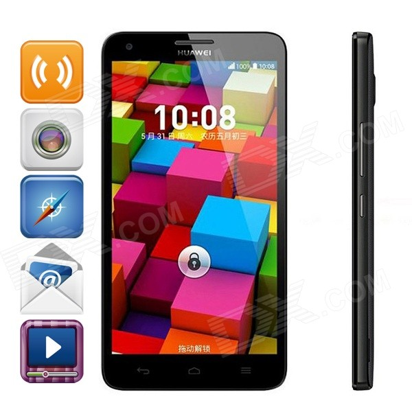 "HUAWEI Honor 3X Pro (G750-T20) Octa-Core Android 4.2 TD-SCDMA 3G Bar telefon w / 5,5 "", GPS, Bluetooth"