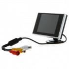 "Jtron 3.0"" LCD Color Screen Car Rearview Monitor Displayer - Black"
