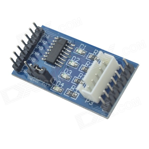 Dmdg uln2003 driver module 5v 28byj 48 stepper motor for for Driving stepper motor with arduino