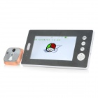 "WB-PH7001 7"" LCD Screen 2.4GHz Digital Wireless Smart Indoor Peephole Viewer - Black"