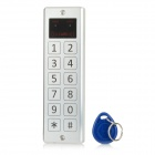JAC33E Soft Touch Keypad Piezo Standalone Access Controller System w/ 10 ID keyrings - Silver