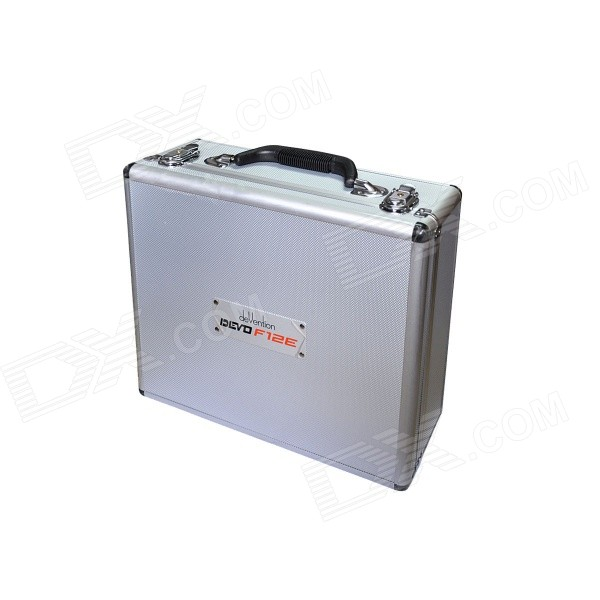 Walkera Aluminum Case for DEVO F12E FPV Radio 5.8GHz Transmitter - Silver