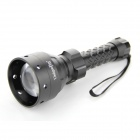 UniqueFire UF-1405 800lm 5-Mode White Zooming Flashlight w/ Cree XM-L U2 - Black (2 x 26650)