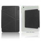 ENKAY ENK-3367 Auto Sleep / Wake-up Protective Case w/ Folding Stand for IPAD MINI / MINI 2 - Black