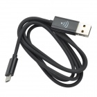 2-in-1 USB 2.0 to V8 Cable Style Wifi Hotspot - Black