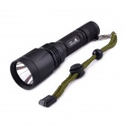 UltraFire M20 4-Mode 400lm HA-III IPX8 Flashlight w/ CREE XP-G2 R5 / Strap - Black (1 x 18650)