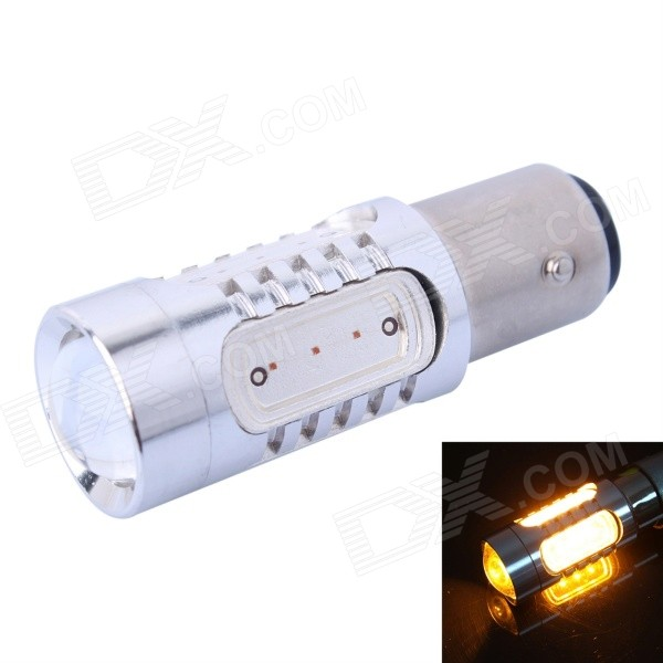 GC 1156 / BA15S / P21W 11W 400lm 590nm Yellow Light COB LED Car Steering / Backup Lamp (DC 12~24V)