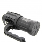 "UniqueFire UF-1400 0.6"" Screen 2500lm 5-Mode White Flashlight w/ 4 x Cree XM-L2 T6 - Black (4x18650)"