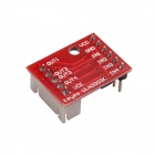 ULN2003 Five Line Four Phase Stepper Motor Driver Module - Red