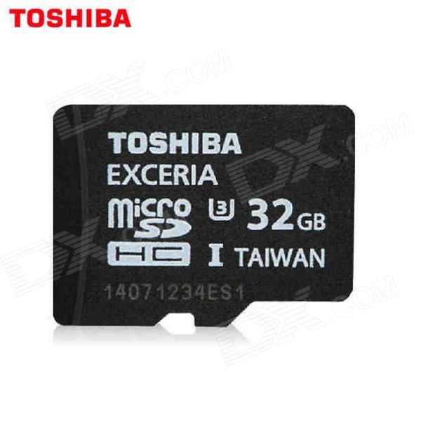 Toshiba Extreme High Speed 32GB U3/UHS-I Micro SDHC / TF Card - Black sandisk extreme pro micro sd sdhc c10 95mb s 633x 8gb 16gb 32gb support official verification red black