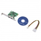 PCE1U1S-A01 USB 3.0 + Power Over eSATA PCI-E Card