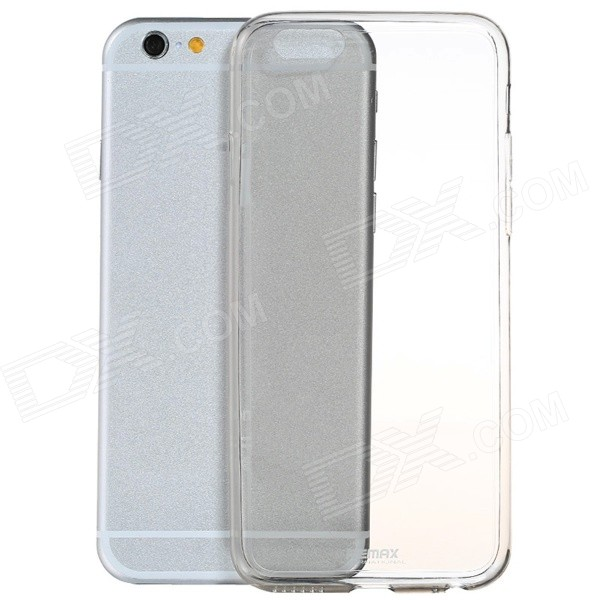Ultra-thin TPU Protective Back Cover Case for IPHONE 6 PLUS 5.5'' - Transparent tpu protective cover for apple watch 38mm transparent