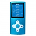 "HOTT MU820 1.8"" Sporting MP3 MP4 Player w / FM / Recorder - Blue (4GB)"