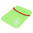 "Protective Soft Carrying Bag for 9.7"" Laptops (Green)"