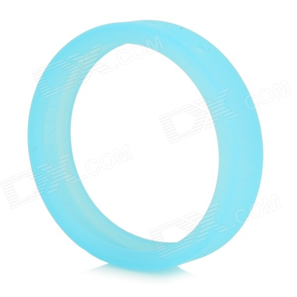 Universal Glow-in-the-Dark Silicone Bracelet Bumper Case for IPHONE 4 / 4S / 5 / 5S / 6 - Sky Blue
