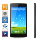 "LANDVO L200G 5.0"" Quad-Core Android 4.4.2 FDD-LTE 4G Smart Phone w/ 1GB RAM, 4GB ROM, Wi-Fi - Black"