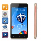 "SHY-S77 5"" Android 4.2.2 Quad-Core TD-SCDMA / GSM Smart Phone w/ 512MB RAM, 4GB ROM, Wi-Fi - Golden"