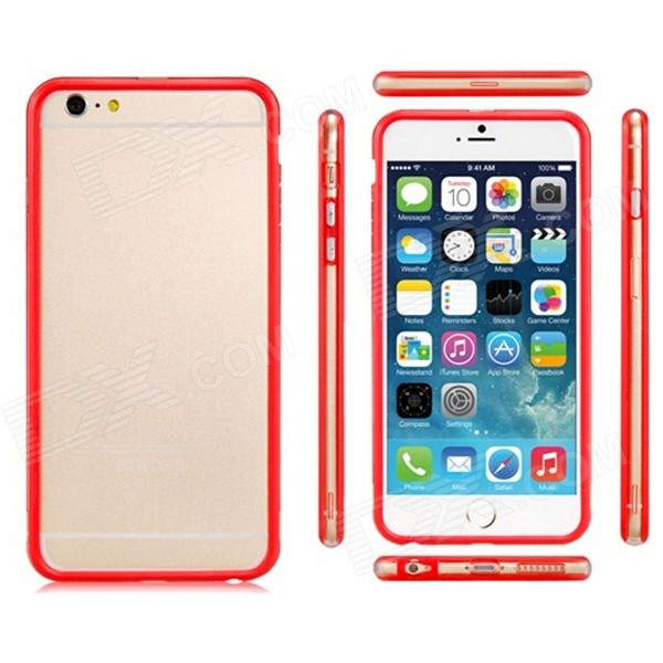 "Pandaoo Plastic Bumper Case for IPHONE 6 PLUS 5.5"" - Red"