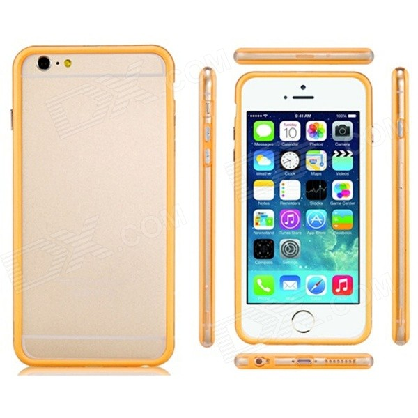 Pandaoo Plastic Bumper Case for IPHONE 6 PLUS 5.5 - Yellow protective plastic bumper frame for iphone 6 4 7 yellow