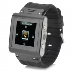 "W838 Sport 1.5"" Resistive Screen GSM Wrist Watch Phone w/ 2GB ROM, Bluetooth, TF - Black + Silver"