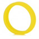 Universal Glow-in-the-Dark Silicone Bracelet Bumper Case for IPHONE 4 / 4S / 5 / 5S / 6 - Yellow