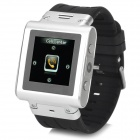 "W838 Sport 1.5"" Resistive Screen GSM Wrist Watch Phone w/ 2GB ROM, Bluetooth, TF - Silver + Black"