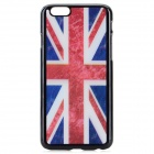 "UK Flag Pattern Protective Plastic Back Case for IPHONE 6 4.7"" - Red + Blue + Multi-Color"