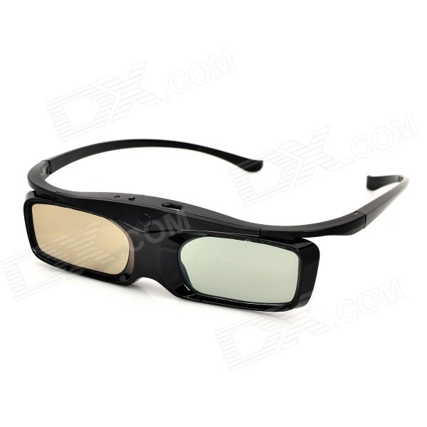 SG16-BT 3D Active Shutter Glasses w/ Bluetooth for 3D Projector / TV - Black