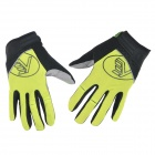 NUCKILY PD04 Sports Breathable Full-Finger Cycling Gloves - Yellow (Size L)
