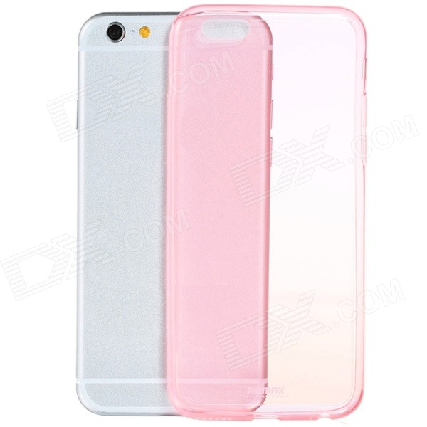 Ultra-thin TPU Protective Back Cover Case for IPHONE 6 PLUS 5.5'' - Translucent Pink iface mall for iphone 6 plus 6s plus glossy pc non slip tpu shell case black