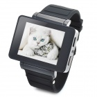"i5s Multi-Function 1.8"" TFT Screen GSM Smart Phone Watch w/ FM, Bluetooth, TF - Black"