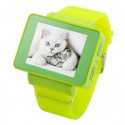 "i5s Multi-Function 1.8"" TFT Screen GSM Smart Watch Phone w/ FM, Bluetooth, TF - Green"