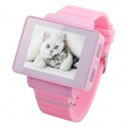 "i5s Multi-Function 1.8"" TFT Screen GSM Smart Watch Phone w/ FM, Bluetooth, TF - Pink"