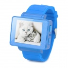 "i5s Multi-Function 1.8"" TFT Screen GSM Smart Watch Phone w/ FM, Bluetooth, TF - Blue"