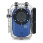 "SJ1000 1.5"" TFT HD 1080P CMOS Wide-Angle Waterproof Diving Cycling Sports DV Camera Camcorder - Blue"