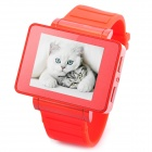 "i5s Multi-Function 1.8"" TFT Screen GSM Smart Watch Phone w/ FM, Bluetooth, TF - Red"