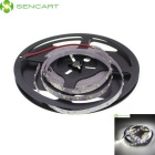 SENCART 30W 1200lm 6500K 300-SMD 3528 LED White Light Strip - White + Transparent (5M / DC 12V)
