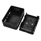 Google TV Player / Mini PC Style ABS + PC Case for Cubieboard - Black