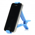 Universal Desktop Clip Holder for IPHONE, IPAD, Cellphone and Tablet PC - Light Blue