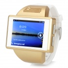 "AN1 2.0"" Capacitive Touch Screen Android 4.1 Watch Phone w/ 512MB RAM, 256MB ROM, TF - Gold + White"