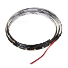 Waterproof 3W 60-LED 3W Flexible Light Strip - White Light (1-Meter/DC 12V)