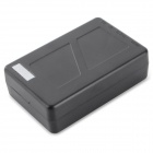 Universal High Capacity 12V UE Plug 1500 ~ 1800mAh Li-ion Battery Power Bank - Preto (110 ~ 240V)