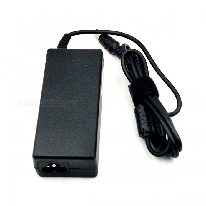 60W 15V 4A AC Power Adapter + Power Cable for Toshiba Laptop (2-Flat-1-Round Plug / 6.3 x 3.0mm)