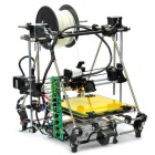 Heacent 3DP04 RepRap Prusa Mendel 3D Printer Assembly Kit - Black (0.4mm Nozzle / 1.75mm Filament)