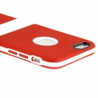 "ENKAY Protective TPU Back Case w/ Stand for IPHONE 6 PLUS 5.5"" - Red + White"