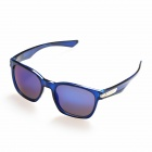 OREKA PC Frame Blue REVO PC Lens UV400 Protection Sunglasses - Blue