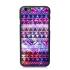 "Elonbo Vintage Stripe Protective Plastic Back Case for IPHONE 6 PLUS 5.5"" - Purple + Multi-Color"