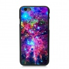 Elonbo Starry Sky Pattern Plastic Back Case for IPHONE 6 PLUS - Purple + Blue + Multi-Color